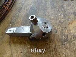 Lathe toolpost capstan unit / index round 1 shank / 3/8 tooling