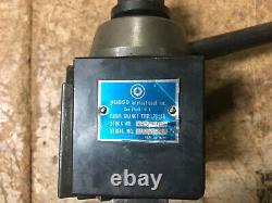 MACHINIST TOOL LATHE MILL Yuasa Quick Change Tool Post 745 100 Wedge Type