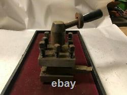 MACHINIST TOOLS LATHE MILL Machinist Lathe Turret Tool Post Tool Holder OfCe