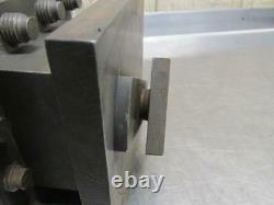 McCrosky 956 4-Way Lathe Tool Holder Post 5-1/4 Square Indexing Style