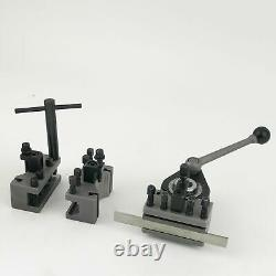 Multifix Type AA/A0 40 Position Quick Tool Post Kit For 4.7 to 8.7 Swing Lathe