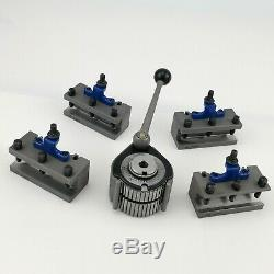 Multifix type A Quick Change Tool Post Kit For 150-300mm Swing Lathe 6 to 12