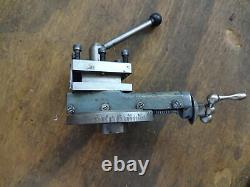 Myford ML7 lathe top slide complete + 4 way tool post imperial