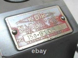 NICE! KDK-150 SERIES QUICK CHANGE LATHE TOOL POST 15 to 18 SWING