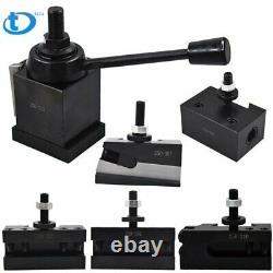 New CXA 250-333 Set Wedge Type Quick Change Tool Post Set for Lathe 13- 18 US