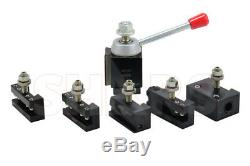 OUT OF STOCK 90 DAYS Shars 6 12 CNC Lathe AXA Piston Quick Change Tool Post S