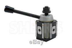 OUT OF STOCK 90 DAYS Shars 6 12 Lathe AXA Piston Type Quick Change Tool Post