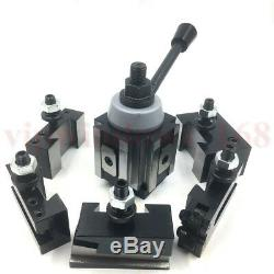 PISTON TYPE Quick Change Tool Post Holder 250-100 kit for 12 Lathe Machine