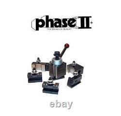 Phase II Tool Post Set 5 Holders Wedge BXA 10 To 15 Lathe Swing