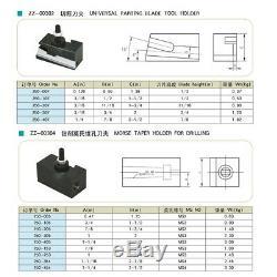 Piston Type AXA 250-100 Quick Change Tool Post Set for 6-12 Lathe Free Shipping