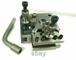 Quick Change T37 Tool Post Set+ 4 Holders-Myford & Lathe 90-115 mm Center Height