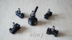Quick Change Tool Post For 4 X 6 Micro Lathe 150W