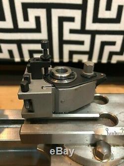 Quick Change Tool Post For Watchmaker Lathe Schaublin70 Uhrmahcer Drehbank