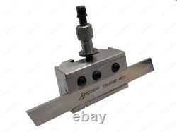 Quick Change Tool Post Set Boxford Lathe Aud Cud Takes Up To 16mm Holders
