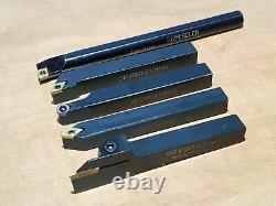 Quick Change Tool Post Set T1 T51 Boxford Aud Cud Lathe + 12mm Lathe Tools