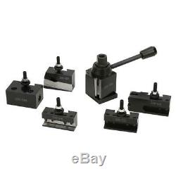 Quick-Change Tool Post Set Type #45 Steel Material Lathe Parts 250-000