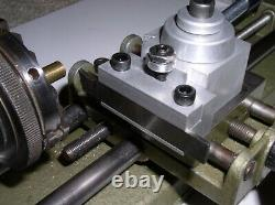 Quick Change Tool Post for Unimat Lathe DB200 /SL1000