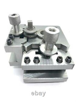 Quick change Tool Post System (T63 Suit Most Lathes) 20mm Opening