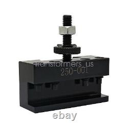 Set of 5 OXA #1 Quick Change Turning & Facing Lathe Tool Post Holder OXA 250-001