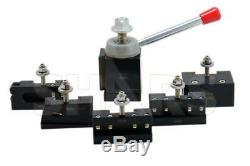 Shars 13-18 CNC Lathe CXA Piston Quick Change Tool Post Set 250-300 New