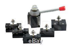 Shars 13-18 CNC Lathe CXA Wedge Quick Change Tool Post Set 250-333 NEW