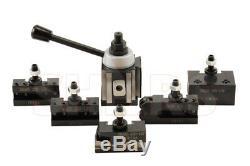 Shars 14-20 CNC Lathe CA Piston Quick Change Tool Post Set 250-400 New