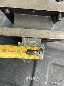 Speed Index 4 WAY Turret Indexing Metal Lathe Tool Post Machinist Find