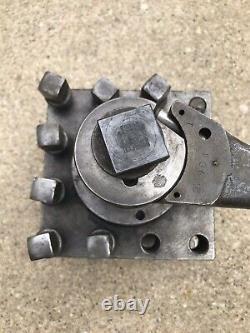 Square Lathe Turret Tool Post Holder Boyar Schultz