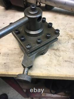 Square Lathe Turret Tool Post Holder S G Cold well