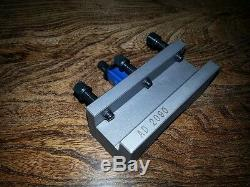 Square Tool Holder for 40 Position Multifix (A1) Lathe Quick Change Tool Post