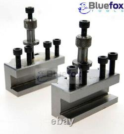 Superb Quality T51 3pc Quick Change Toolpost For Myford Lathe 2 Standard Holder