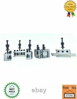 T-37 Quick Change Tool Post For Lathe 5 Pieces Set Alloy Steel With Wooden Box