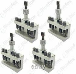 T1 HOLDER 25MM CAPACITY QUICKCHANGE TOOLPOST T63 FOR BOXFORD LATHES 5Pc
