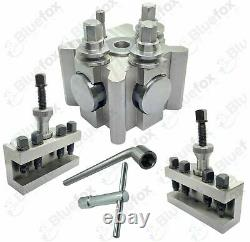 T2 Quick change Tool Post System (T 72 Suit Most Lathes) 26mm Opening