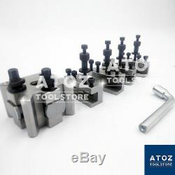 T37 Quick Change Toolpost Lathe Fits MYFORD SUPER 7 ML7 LATHES + 4 holders T-37