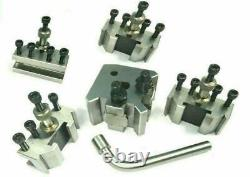 T37 Quick Post Tool Holder for my ford Lathe 90-115 mm Center Height4 pc Holder