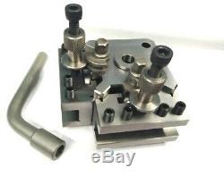T51 T1 Quick Change Tool Post 5 Pc Set- Boxford, Warco & Size 125-150 MM Lathe
