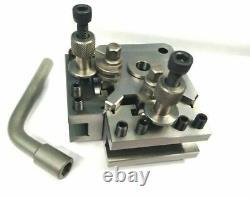 T51 T1 Quick Change Tool Post Set- Boxford, Warco & Similar Size 125-150 MM Lathe