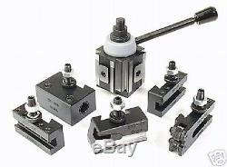 Tool Post Set5 Holders Piston CXA 13 To 18 Lathe Swing