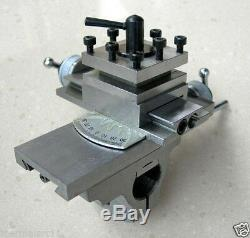 Tool Post Slide Rest for 8mm Watchmaker Lathe