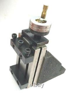 ToolPost Mini Vertical Slide (90 x 50 mm) for instant Milling Operation on Lathe