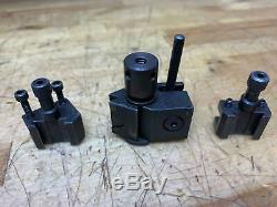 Tripan Rapid Change Tool Holder Set 011 031 032 Levin Lathe Quick Change Post