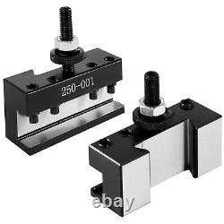 VEVOR Lathe Tool Holder Quick Change Tool Post Set for Mini Lathe 250-000 Post