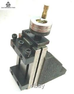 Vertical Mini Slide 90 x 50 mm Tool post for instant Milling Operation on lathe