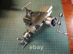 Vintage Watchmaker Tool 8 mm Lathe Cross Slide Rest Post Jewelers