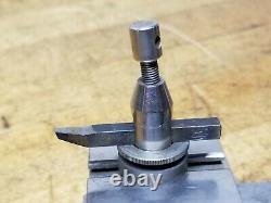 Watchmaker Jewelers Lathe Cross Slide Tool Post Derbyshire Wolf Boley Levin