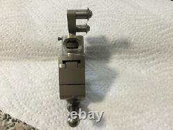 Watchmakers Geneva lathe adjustable double roller tool post clamp & holder