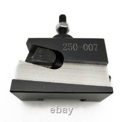 Wedge Gib Type Toolpost Holder Tools Quick Change Mini Lathe Post Tool Holder