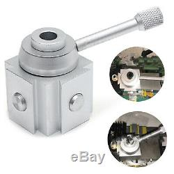 X9 3/8 Boring Bar x5 Carbide Blade Mini lathe Quick Change Tool Post Holder Set